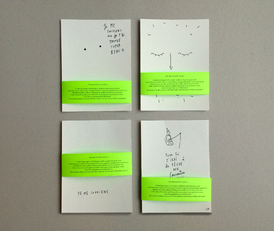 sandrine estrade boulet - 4-cartes-postales-sandrineestradeboulet