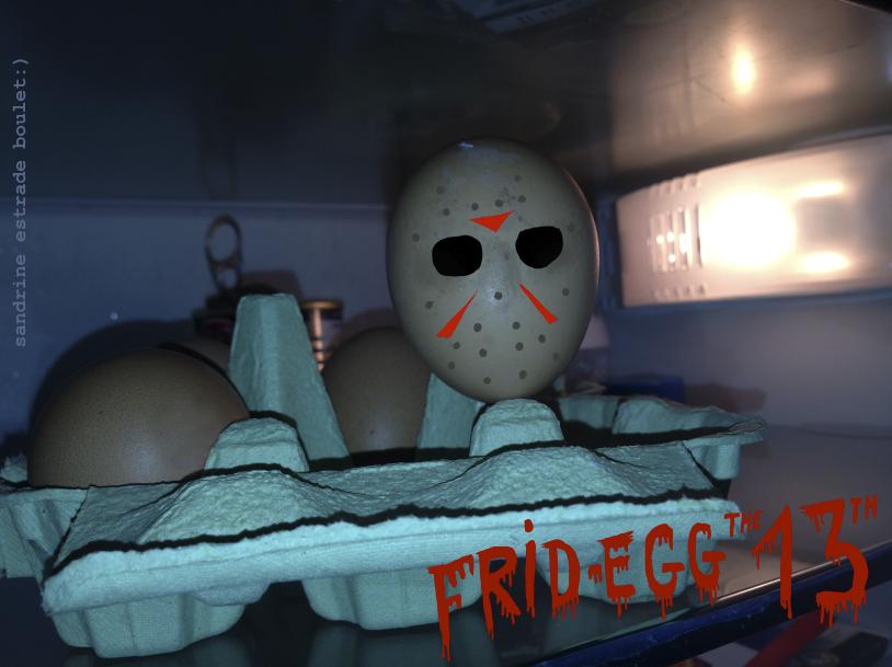 sandrine estrade boulet - Frid-egg the 13th- sandrine estrade boulet